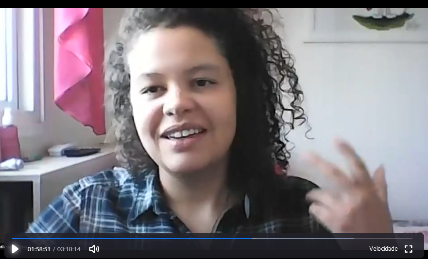 Milena Leão é a educadora do Módulo 2